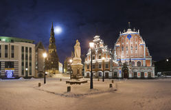 Riga after Christmas Stock Photography