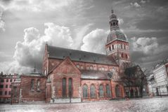Riga Church of St. Peter Royalty Free Stock Photos