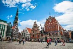 Riga city hall, Latvia Stock Photos