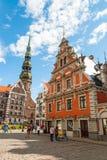 Riga city hall, Latvia Royalty Free Stock Image
