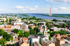Riga city view Stock Photo
