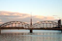 Riga cityscape Stock Images