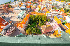 Riga cityscape view Royalty Free Stock Images
