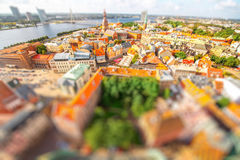 Riga cityscape view stock images
