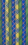 Riga colorata della corda Fotografie Stock