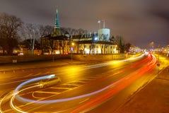 riga Das Schloss ist ein Wohnsitz für einen Präsidenten von Lettland (alte Stadt, von Riga, von Lettland) lizenzfreie stockfotografie