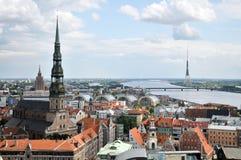 Riga de capital de Latvia Imagem de Stock