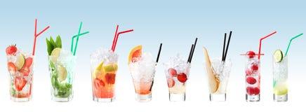 Riga dei cocktail di mojito   fotografia stock