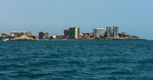 Riga del litorale di Oropesa Immagini Stock Libere da Diritti