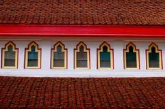 Riga della finestra fotografie stock