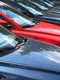 Riga delle automobili Fotografie Stock