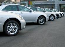 Riga delle automobili Immagini Stock
