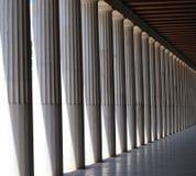 Riga delle colonne Immagine Stock