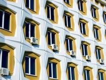 Riga delle finestre Fotografia Stock Libera da Diritti
