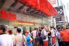 Riga di biglietti Fotografia Stock Libera da Diritti