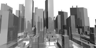Riga di città grafica del particolare Immagine Stock