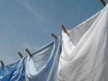 Riga di lavaggio Immagini Stock
