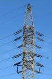 Riga di trasmissione di elettricità Immagine Stock Libera da Diritti