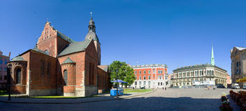 Riga Doms cathedral Royalty Free Stock Images