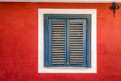 Riga doors and windows Royalty Free Stock Images