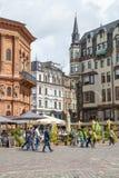 Riga downtown, Latvia Stock Images
