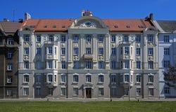 Riga Eksporta 5, dekorativa Art Nouveau Royaltyfri Bild