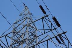 Riga elettrica Immagine Stock