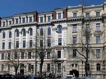 Riga, Elizabetes 31-31a éclectique image libre de droits
