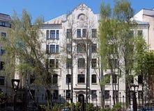 Riga, Elizabetes 23 Art Nouveau photographie stock