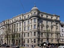 Riga, Elizabetes 31a ecléctico Foto de archivo libre de regalías
