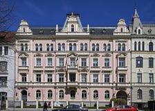 Riga Elizabetes 15 som bygger i stilen av eklekticism, den ambassadörs- fjärdedelen Arkivbild