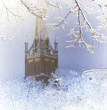Riga en hiver Images libres de droits
