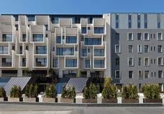 Riga en ny grannskap i mitten av staden Arkivfoto