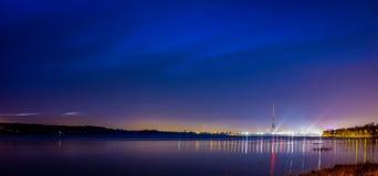 Riga Fernsehturm stockfotografie