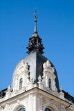 Riga, fragment of building with weather vane Royalty Free Stock Photos