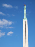 Riga: Freedom Monument Stock Images