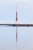 Riga-Funk und Fernsehkontrollturm Stockfoto