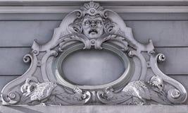 Riga Gamla Stan Gargoyle Fotografering för Bildbyråer