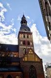 riga gammal town Arkivbilder
