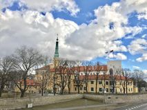 riga gammal town Royaltyfri Bild