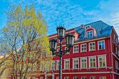 Riga-Gebäude und -architektur lizenzfreie stockbilder