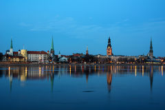 Riga - general view Royalty Free Stock Photo