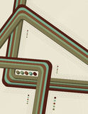 Riga geometrica priorità bassa Fotografia Stock Libera da Diritti
