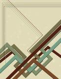 Riga geometrica priorità bassa Fotografie Stock