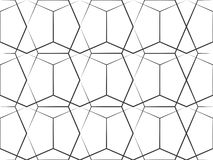 Riga geometrica reticolo illustrazione di stock