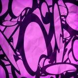Riga grafica disegno Fotografia Stock