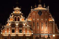 Riga - Hauptstadt von Lettland. Alte Stadt, lizenzfreie stockfotografie
