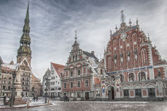 Riga The House of Blackheads Stock Photo