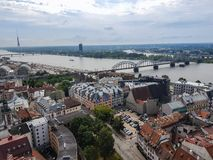 Riga ist die Hauptstadt von Lettland lizenzfreies stockbild