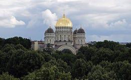 Riga Kristusdomkyrka Royaltyfri Fotografi